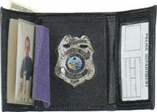 89800_Tri-fold Badge Wallet - Dress-