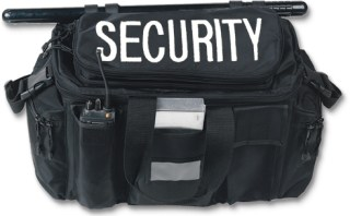 Deluxe Gear Bag - Security Imprint-Strong Leather