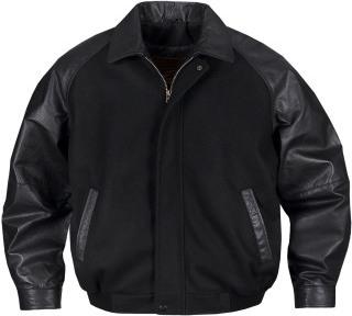 Men's Rhodes Melton/leather Club Jacket