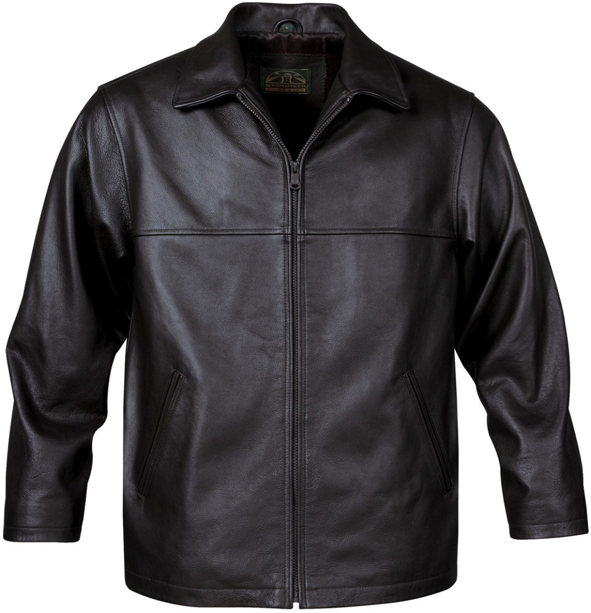 Men's Stormtech Classic Leather Jacket-StormTech
