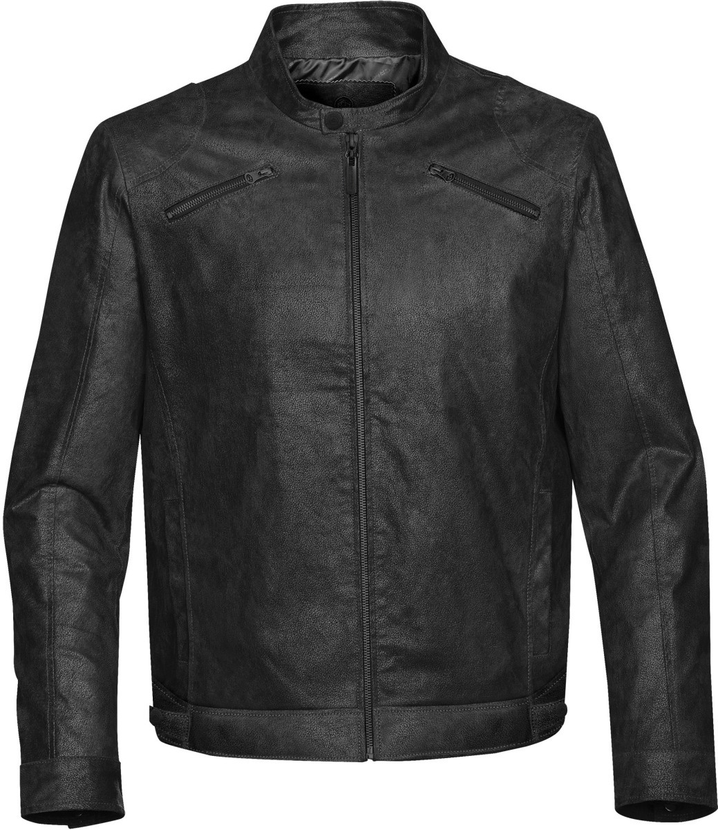 Men's Rogue Leather Jacket-StormTech