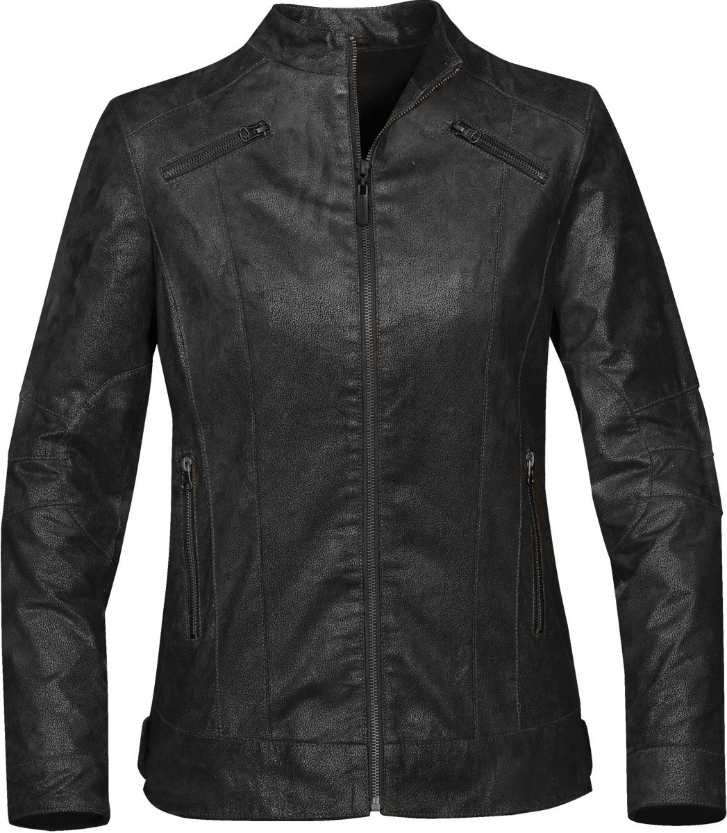 Women's Rogue Leather Jacket-StormTech