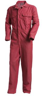 Moisture-Wicking FR Work Coverall-