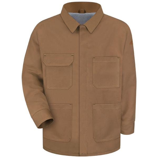 Brown Duck Lineman's Coat - EXCEL FR® ComforTouch®