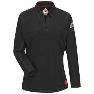 IQ Women's Long Sleeve Polo