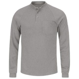 Long Sleeve Henley Shirt- CoolTouch®2-