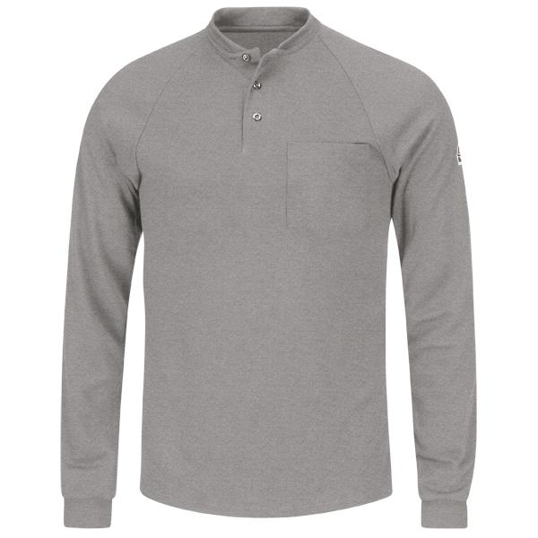 Long Sleeve Henley Shirt- CoolTouch®2
