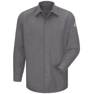 Concealed-Gripper Pocketless Shirt - CoolTouch® 2 - 7 oz.-Bulwark®