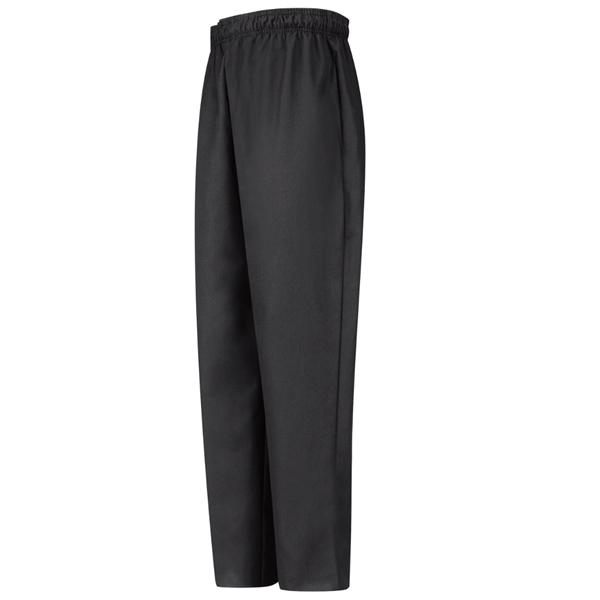 Black Baggy Chef Pant-