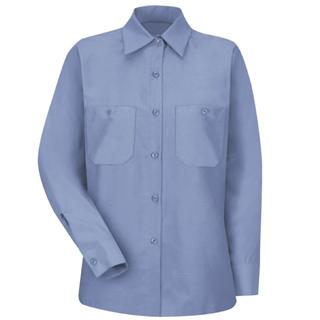 Women's Industrial Work Shirt - Long Sleeve