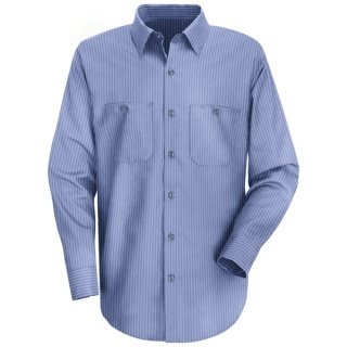 Men's Durastripe® Work Shirt - Long Sleeve
