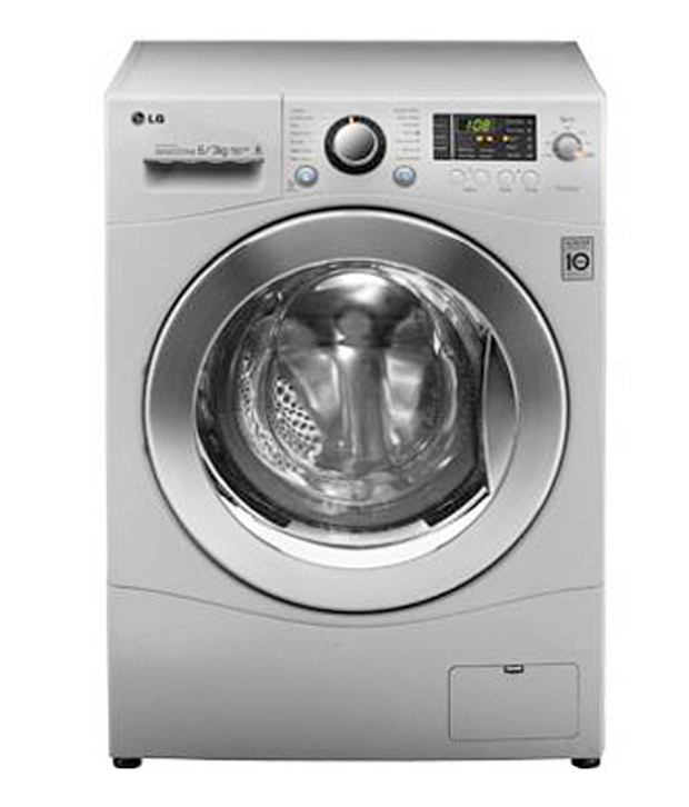 lg f12a8cdp2 front load washer dryer washing machine 63 kgblue white