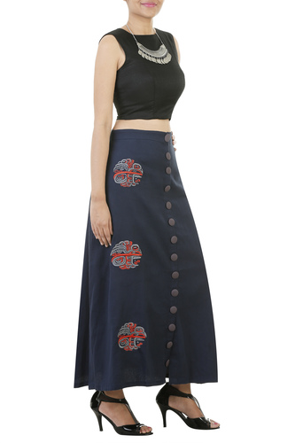 Indigo Blue skirt
