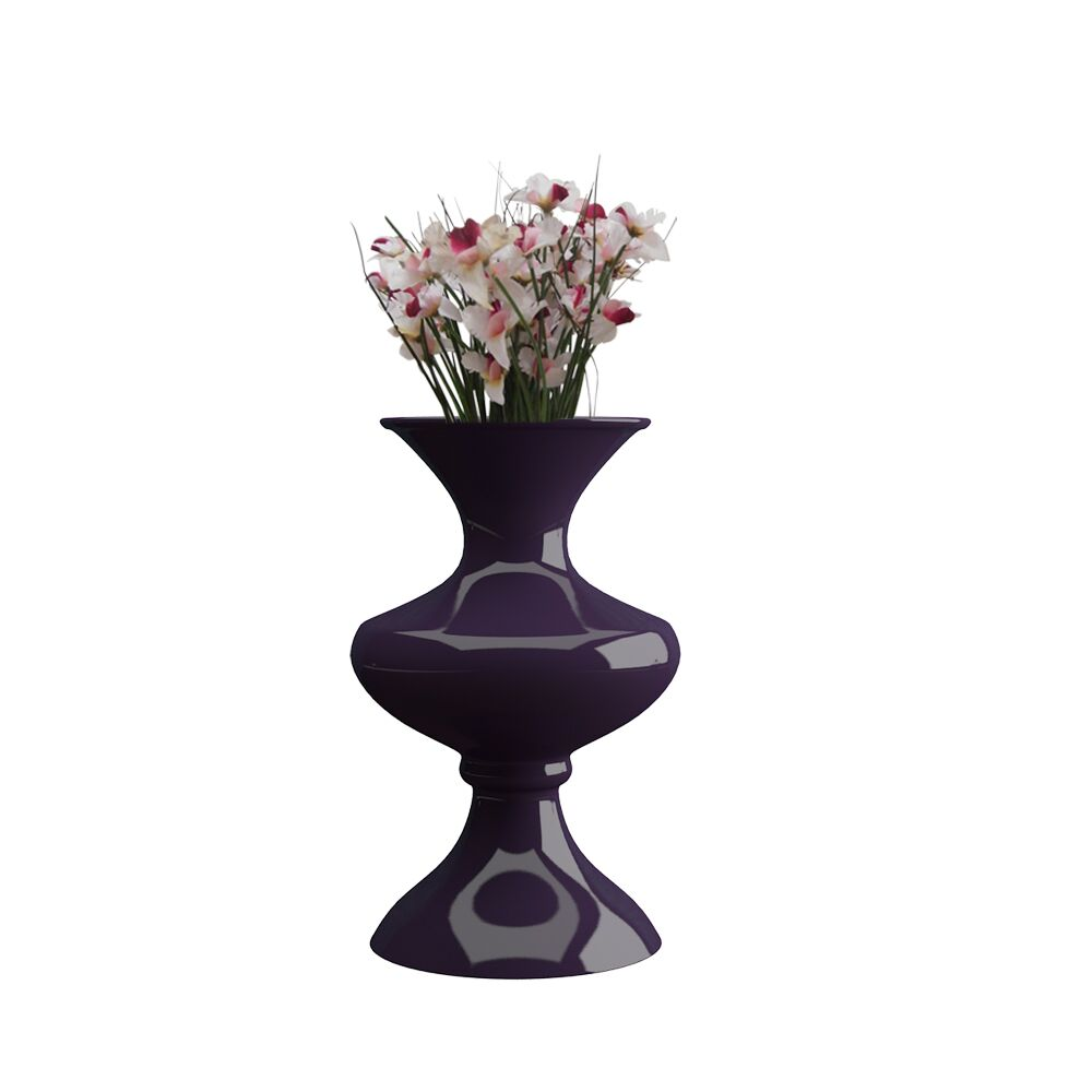 16 inch Purple Flower Pot - Vase (Florence)