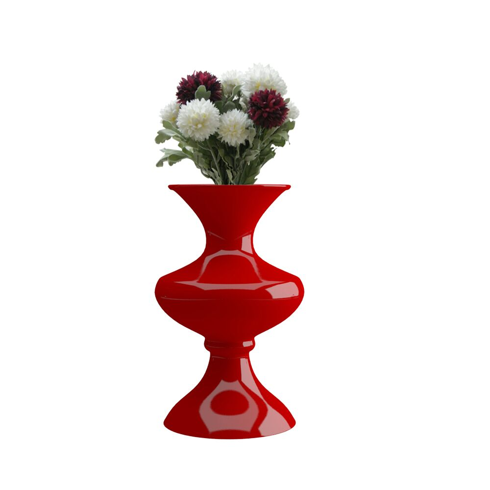 16 inch Red Flower Pot - Vase (Florence)
