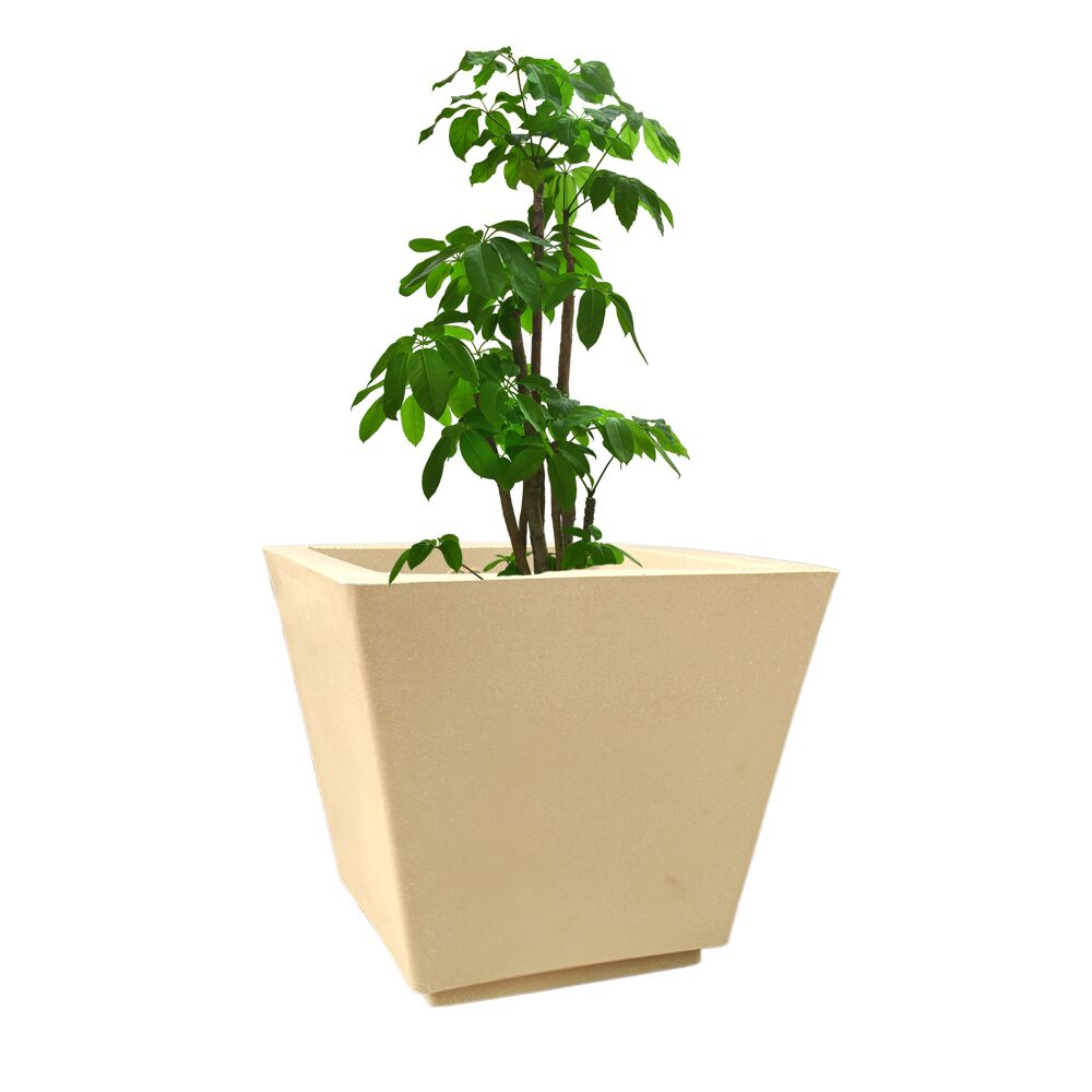 YUCCABE FOXB GK beige 14 Inches Planter