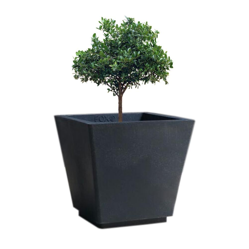 YUCCABE FOXB GK grey 14 Inches Planter