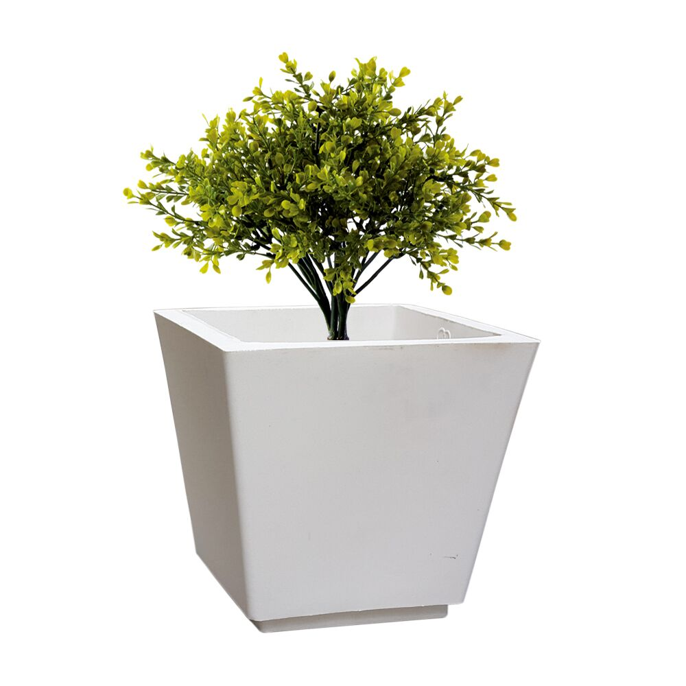 YUCCABE FOXB GK White 14 Inches Planter