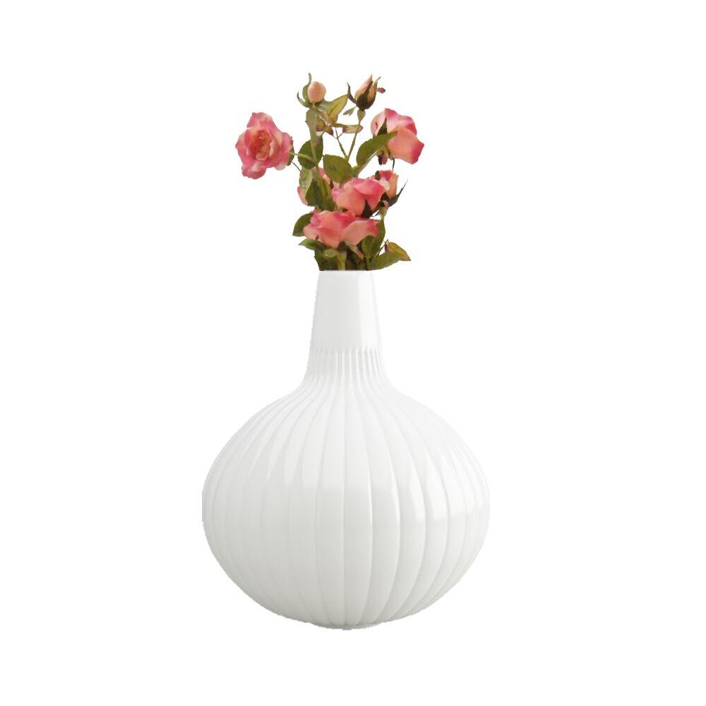 12 inch Red Flower Pot - Vase (Linea)