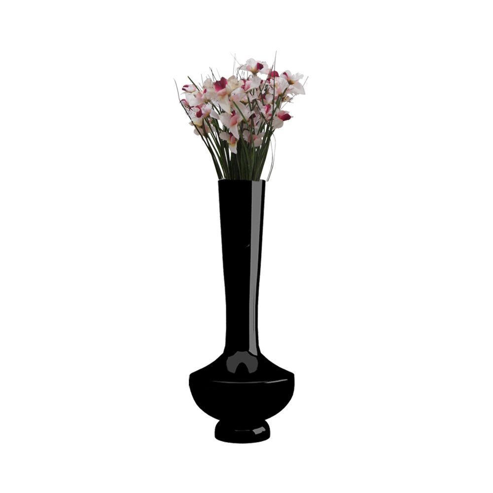 15 inch Black Flower Pot - Vase (Nordic)