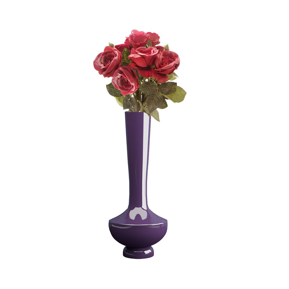 15 inch Purple Flower Pot - Vase (Nordic)