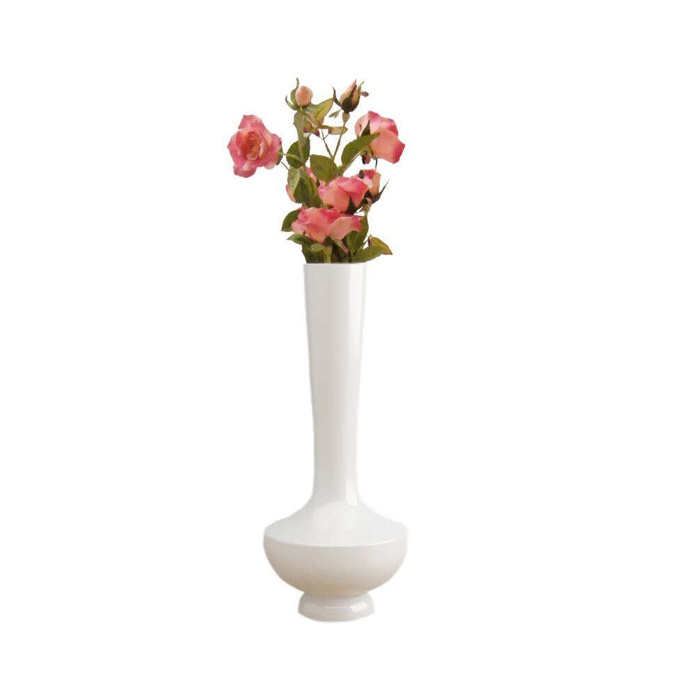 15 inch White Flower Pot - Vase (Nordic)