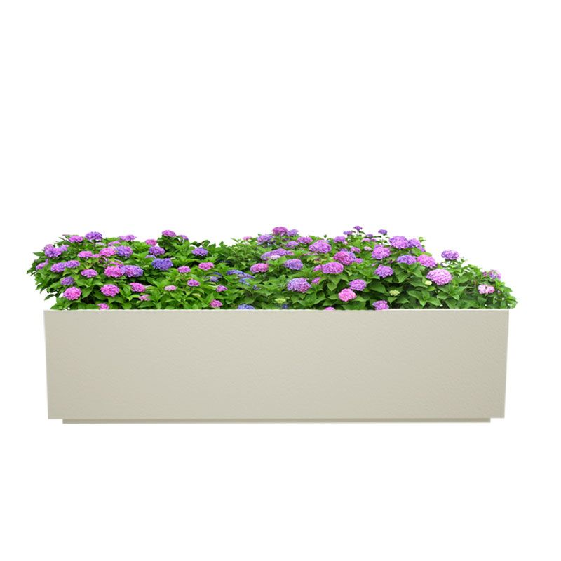 Creame White 24 Inches Box Tray Planter
