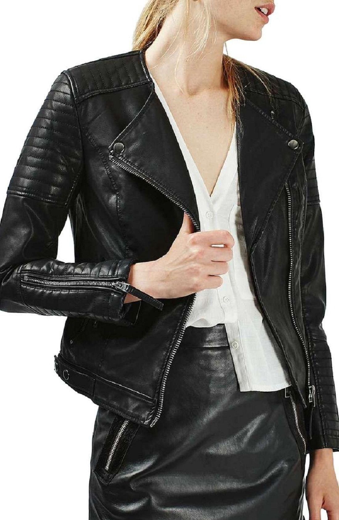 Pure Customised leather jackets for Women's