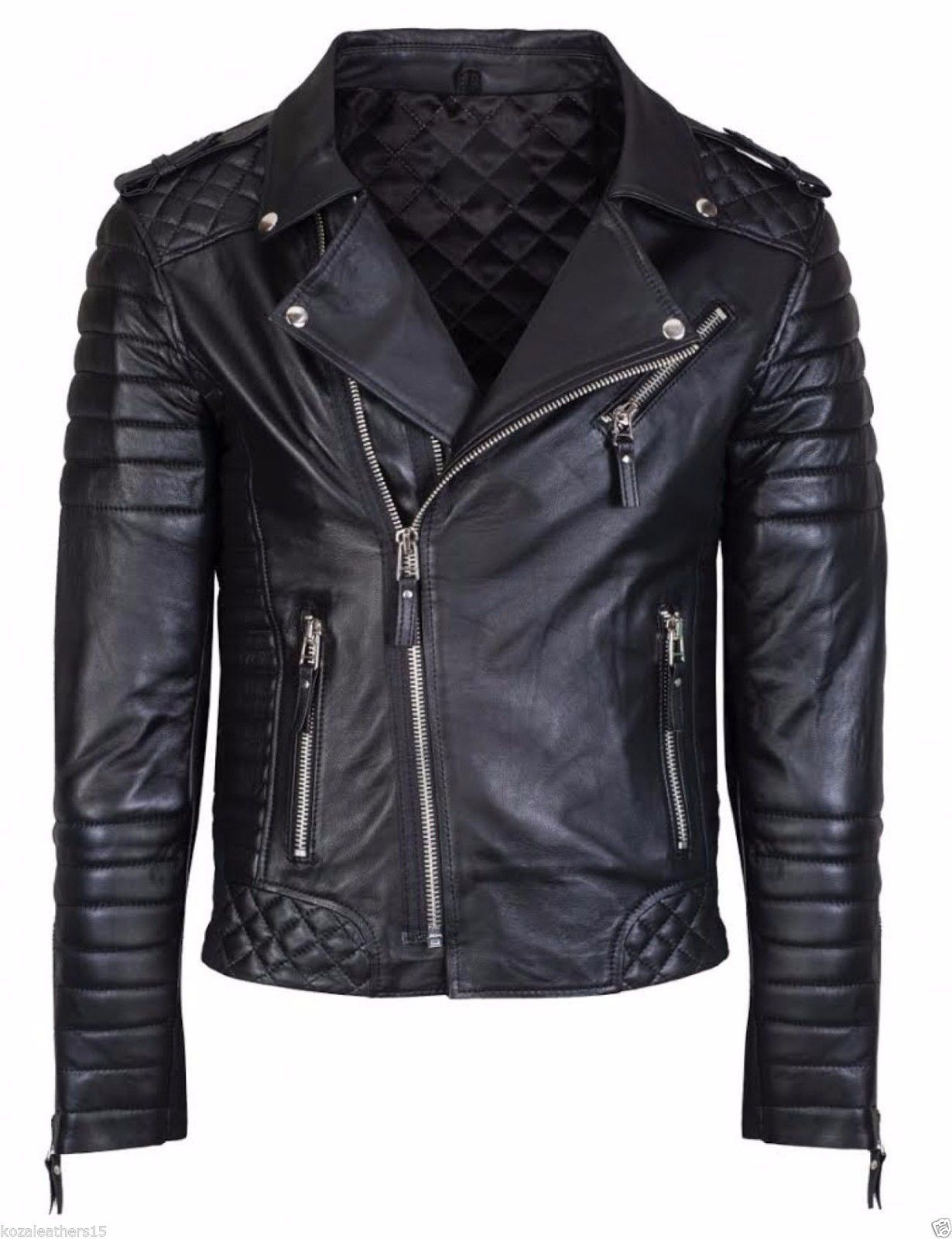 Men's Leather Jacket In Reasonable price  From India
